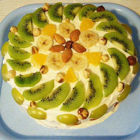 Вегетарианские торты с фото