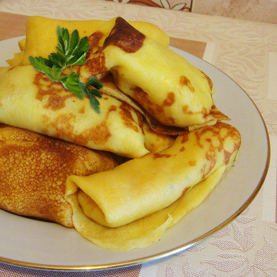 Блины с картофелем (Алу-патра по-русски :-)