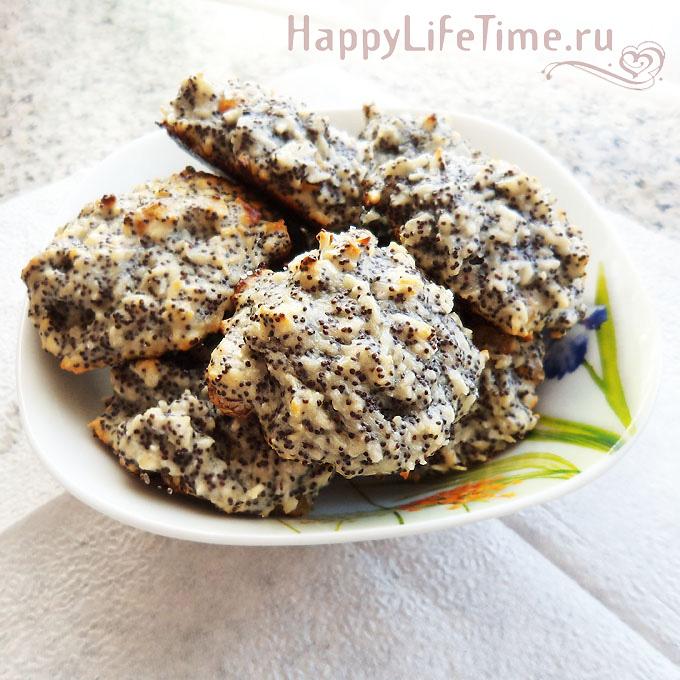 Маковое печенье (без муки)