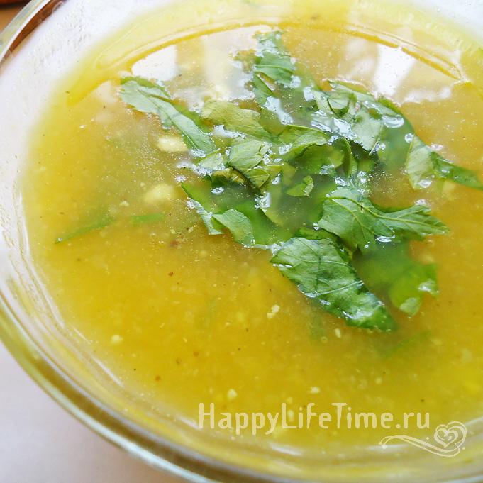 Суп-пюре овощной с сыром