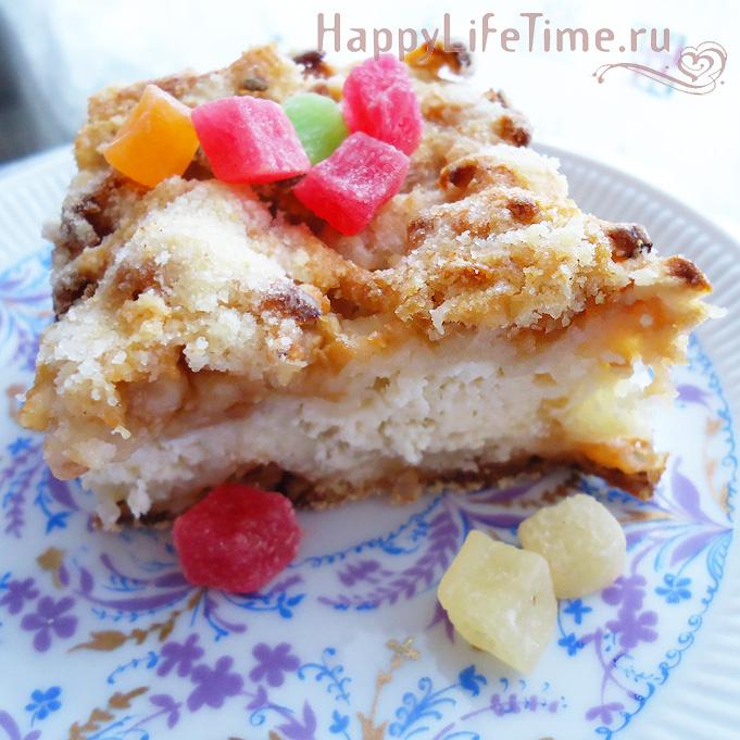 Нежный яблочный пирог 2