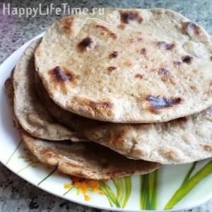 чапати индийский хлеб