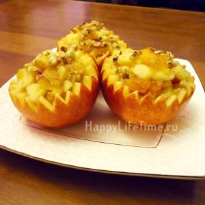 фаршированные яблоки (салат)