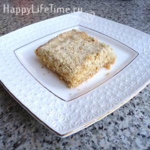 рецепт пирога с творогом без яиц