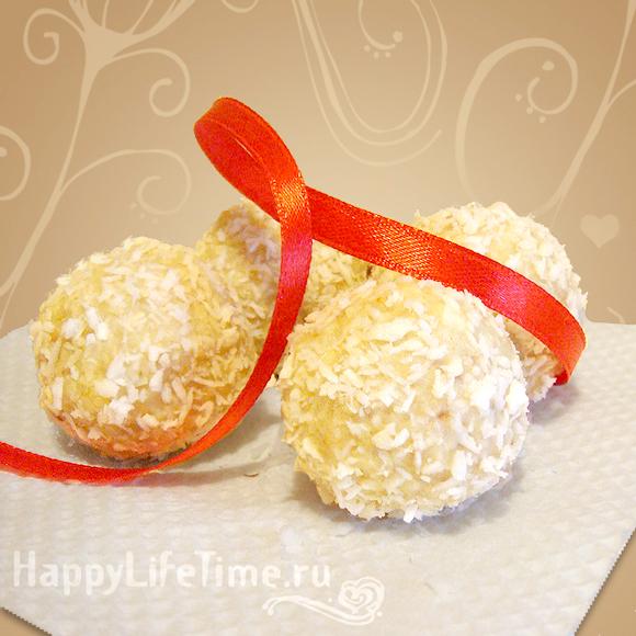 Кунжутные шарики «Рафаэлло»